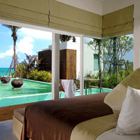 Phuket resorts review, Aleenta pool suite