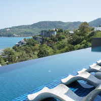 Hyatt is a new addition to Kamala, Regency Club pool