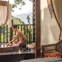 Chiang Rai spa resorts - Anantara Golden Triangle is a luxury pick