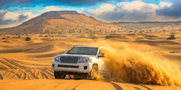 Dubai fun guide with some business hotels and dune drives or wadi bashing as it is termed