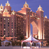 Dubai child friendly hotels, Atlantis is over the top but fun