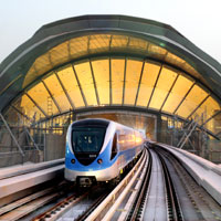 Dubai fun guide for families, the metro is easy to catch
