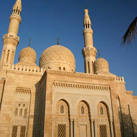 Dubai mosque, architecture