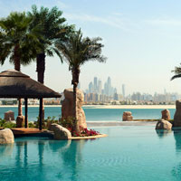 French flair at Sofitel Dubai The Pal, pool view